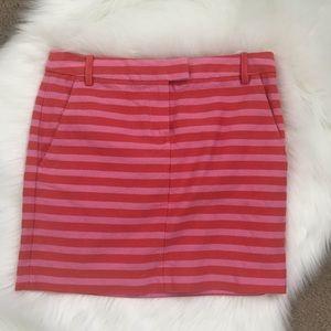 J. Crew Stripe Miniskirt!